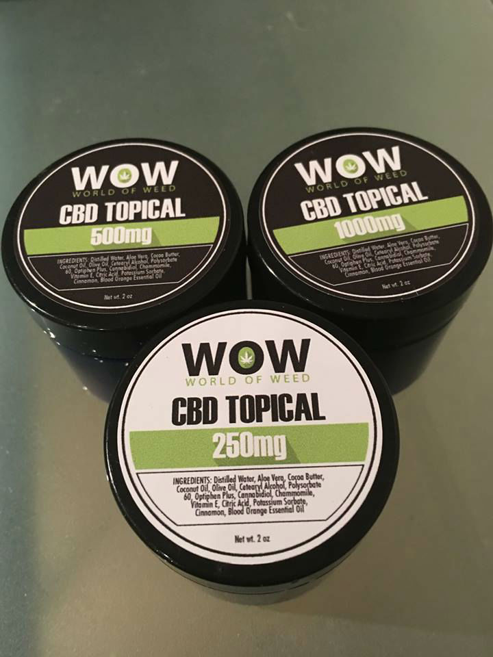 World of Weed CBD Topicals - Shop WOW
